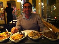 Rijstafel in Amsterdam (Marc Ben Fatma - visit sophia.lu and like my FB pa) Tags: portrait food chicken netherlands amsterdam indonesia restaurant rice beef ngc marc paysbas nourriture riz poulet boeuf benymarc