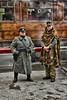 Crossing Patrol (J Tys) Tags: train uniform gun hats german gard levelcrossing levisham nymr warwkend thebestofhdr hdrterrorist hdrworlds