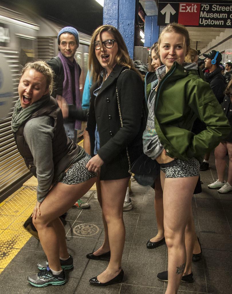 candid underwear teen No Pants Subway Ride 2013 (j-No) Tags: nyc girls ny men