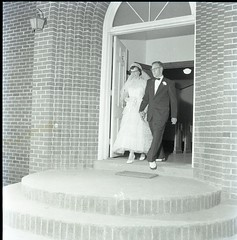 1955adamswedding007 (Iredell County Public Library) Tags: adams