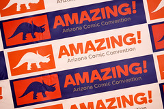 Amazing Arizona Comic Con sign