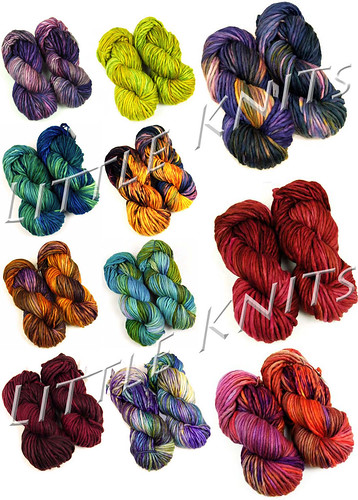 Malabrigo Rasta in Unique Colors Lines