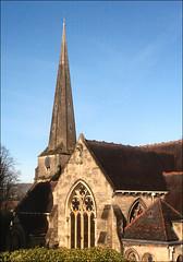 St Laurence's: Stroud (Canis Major) Tags: landmark gloucestershire spire stroud anglican rebuilt stlaurences