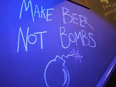Wise Words (Smabs Sputzer) Tags: beer wall writing graffiti faux bomb brewdog