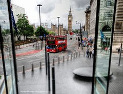 London (Rex Montalban Photography) Tags: greatbritain england london hotel europe unitedkingdom bigben ts hdr redbus tiltshift photomatix westminsterparkplaza rexmontalbanphotography pse9