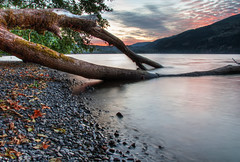 Cultus Lake Sunset