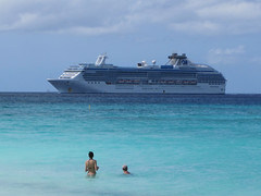 Island Princess (jelpics) Tags: ocean cruise sea harbor boat ship vessel aruba cruiseships oranjestad princesscruises islandprincess eaglebeach