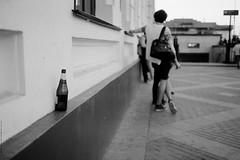 untitled (Anton Zabermach) Tags: blackandwhite bw film analog 35mm bottle dof bokeh nikkor ilford fp4 nikonfe2 selfdeveloped microphen 24mmf28ais