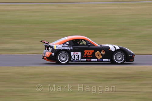 Daniel Harper in Ginetta Junior Racing during the BTCC 2016 Weekend at Snetterton