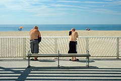 Rockaway Beach (triebensee) Tags: fujifilm xpro1 fujinon 35mm f14 rockaway beach nyc queens summer