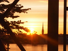 Hermans 27 (Helen White Photography) Tags: hermans restaurant vegetarian stockholm terraced gardens view sunset summer
