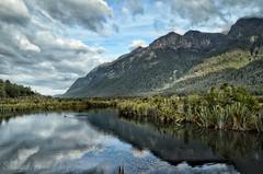 UNatureTOUCHED (Sh@hul.H) Tags: nikond5100 nikon nikon1855mm vacation honeymoon southislandnz newzealand fiordlandnationalpark scenic scenicvacation scenery mountain snapseed wayoveredited teanau nature landscape photography beginner