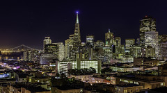 San Francisco Blue (Simon Huynh) Tags: sanfrancisco nightscape cityatnight transamericabuilding skyline