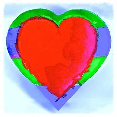 a sunday sort of a heart (muffett68 ) Tags: heart hss slidersunday squarecrop