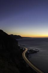 Sea Cliff Bridge (jazzabe1) Tags: sea cliff bridge sydney wollongong light trails sunrise