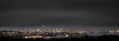 Darkness On The Edge Of Town (EmeraldImaging) Tags: dudleyreserve doverheights bondi sydney sydneyharbour sydneyharbourbridge sydneycity operahouse nsw australia australian sunrise clouds le longexposure seascape