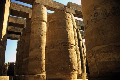 "Ägypten 1999 (339) Karnak-Tempel: Großer Säulensaal im Tempel des Amun-Re • <a style=""font-size:0.8em;"" href=""http://www.flickr.com/photos/69570948@N04/29048336872/"" target=""_blank"">View on Flickr</a>"