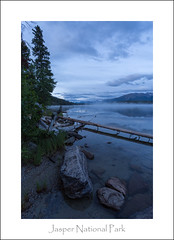Going Vertical at Pyramid Lake (Ken Krach Photography) Tags: albertacanada jaspernationalpark pyramidlakejasper