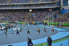 DSC_4807 (lenpereira) Tags: rio2016 olimpiadas2016 2016olympics atlestismo athletics running corrida nikond3200 olimpadas olympics atletas athletes 200m 200mrasos