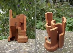 Try-out (Marcel Prins) Tags: 2016 marcelprins marcel prins jubbega nederland thenetherlands kunst art beeld beelden sculptuur sculpture skulptur collage assemblage arrangeur wwwmarcelprinsnl