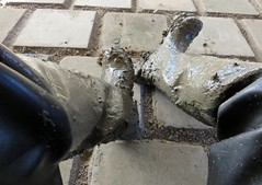 A Good Day's Play (essex_mud_explorer) Tags: bullseye hood bullseyehood waders thigh boots thighboots thighwaders cuissardes watstiefel gummistiefel rubber rubberboots rubberlaarzen vintage madeinbritain silvertownuk mud muddy schlamm