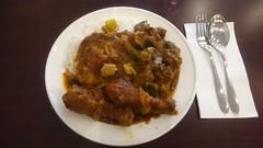 Ayam masak merah, kari kambing, dhal, basmati rice AUD12 - Melbourne Wok - sxz3 (avlxyz) Tags: fb curry rice mutton lamb kambing kari nasi basmati ayam chicken