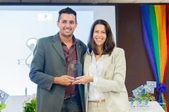 Georgiana recebe o Prêmio Aliad@s da Cidadania LGBT 2016 pelo UNAIDS Brasil