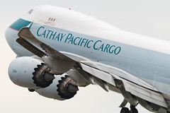 Cathay Pacific Cargo B747-8F  B-LJG 4037 (CF Yuen) Tags: canon clk cathaypacific cx cargo cpa cathay 100400lii 100400mmf4556lisiiusm 14xiii 80d vhhh hkg hongkong hk freighter bljg