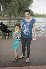 Yoav with Mom (Dan_lazar) Tags: yoav lazar national park ramat gan israel         sigal mother