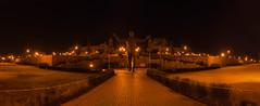 Nelson Mandela Statue, Pretoria (Paul Saad) Tags: nelson mandela nelsonmandela pretoria unionbuilding pao panorama panoramic night exposure madiba nikon garden