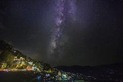 Darjeeling Under Milkyway. (pusan_sm) Tags: darjeeling india indian milkyway night starry star stars canon 5d mark iii canon5dmarkiii pusan shaan bangladeshi ttl ttlbd