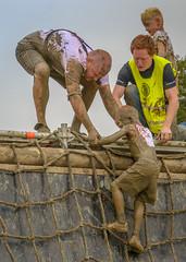 over (stevefge) Tags: berendonck family familyedition viking mud run event reflectyourworld nederlandvandaag nederland netherlands people kids kinderen children boys sport