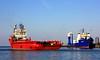 EAGLE FJORD  & NATALIE / Cuxhaven (cuxclipper ) Tags: eaglefjord versorger servicevessel offshoresupplier eagleshipping supplysurveydiveship cuxhaven port natalie