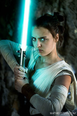 Rey Lightsaber (mathieustern) Tags: starwars star wars jedi rey cosplay light saber fight toy lens vintage