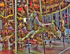 Carousel (Billy McDonald) Tags: hdr liverpool docks albertdock carousel ride colour horses