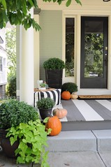 2016 Fall Porch Makeover (emily @ go haus go) Tags: falldecorating fall2016 2016 autumn porchmakeover frontporch pumpkins wayfair sponsored fallhometour falltour tour outdoors