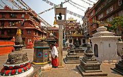 Kathesimbhu Stupa 39 (David OMalley) Tags: kathesimbhu stupa kathmandu nepal newar nepali