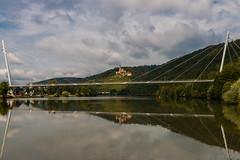 New meets historic (texge-pictures) Tags: 2016 brcke hassmersheim landschaft natur neckar outdoor stativ wolkig
