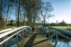 Jubliee Bridge Shadows (taperoo2k) Tags: jubileebridge christchurchmeadow oxford kevintaphousephotography