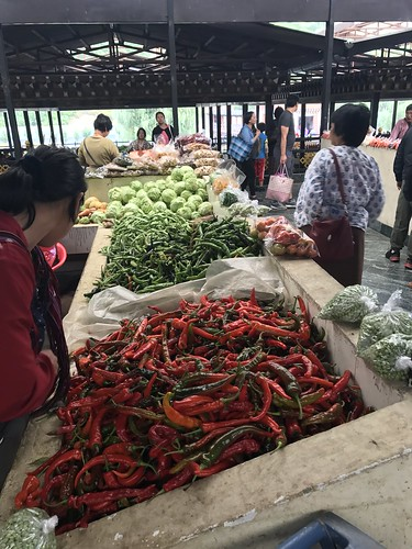Weekend market, Thimpu