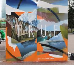 TRUE NATURE (SERGEY AKRAMOV) Tags: sergeyakramov сергейакрамов art fineart sprayart streetart graffiti graffuturism postgraffiti paint painting spray acrylic nature wall contemporary abstraction repaint