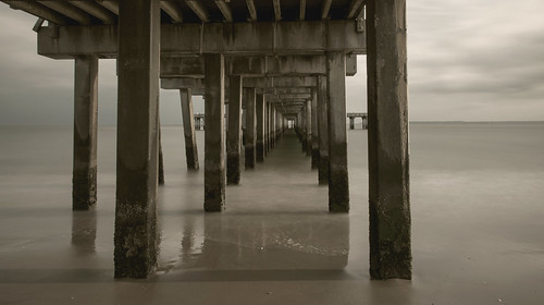 Under the boardwalk, down by the sea, yeah