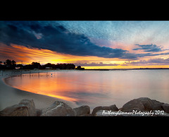 Silver Beach (AnthonyGinmanPhotography) Tags: sunset silverbeach kurnell theshire