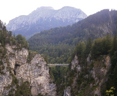 Marienbrcke (B. Abelenda) Tags: bridge alps nature alpes germany bayern deutschland bavaria paisaje olympus views alemania brucke baviera marienbrucke