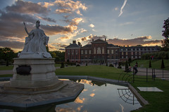 Kensington Palace Evening Sky (GarethThomasJones) Tags: sky london beautiful gardens thames architecture canon ed jones hill royal hydepark kensington 1785mm gareth efs ef queenvictoria kensingtonpalace notting londoncity rumour princessdiana canonefs1785mmf456isusm 60d katemiddleton amazingcity