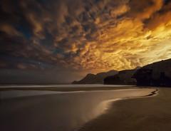 Cabo de Gata Playa de Monsul (martin zalba) Tags: night landscape star noche cabo paisaje estrellas gata estrella