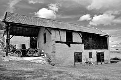 Art (Tinina67) Tags: old bw art architecture craft tina sw cowshed gers builing tinina67 aumarron