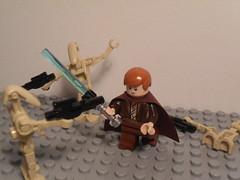 Episode II Anakin Skywalker (Fithboy) Tags: star lego attack clones anakin lightsaber wars clone skywalker
