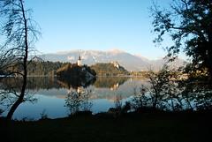 Lake Bled (vish23) Tags: lake slovenia bled nikkor 18200mm nikond80 f35f56