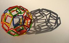 Some Shadows are Simpler than others (fdecomite) Tags: 3d slide together printing math povray shapeways